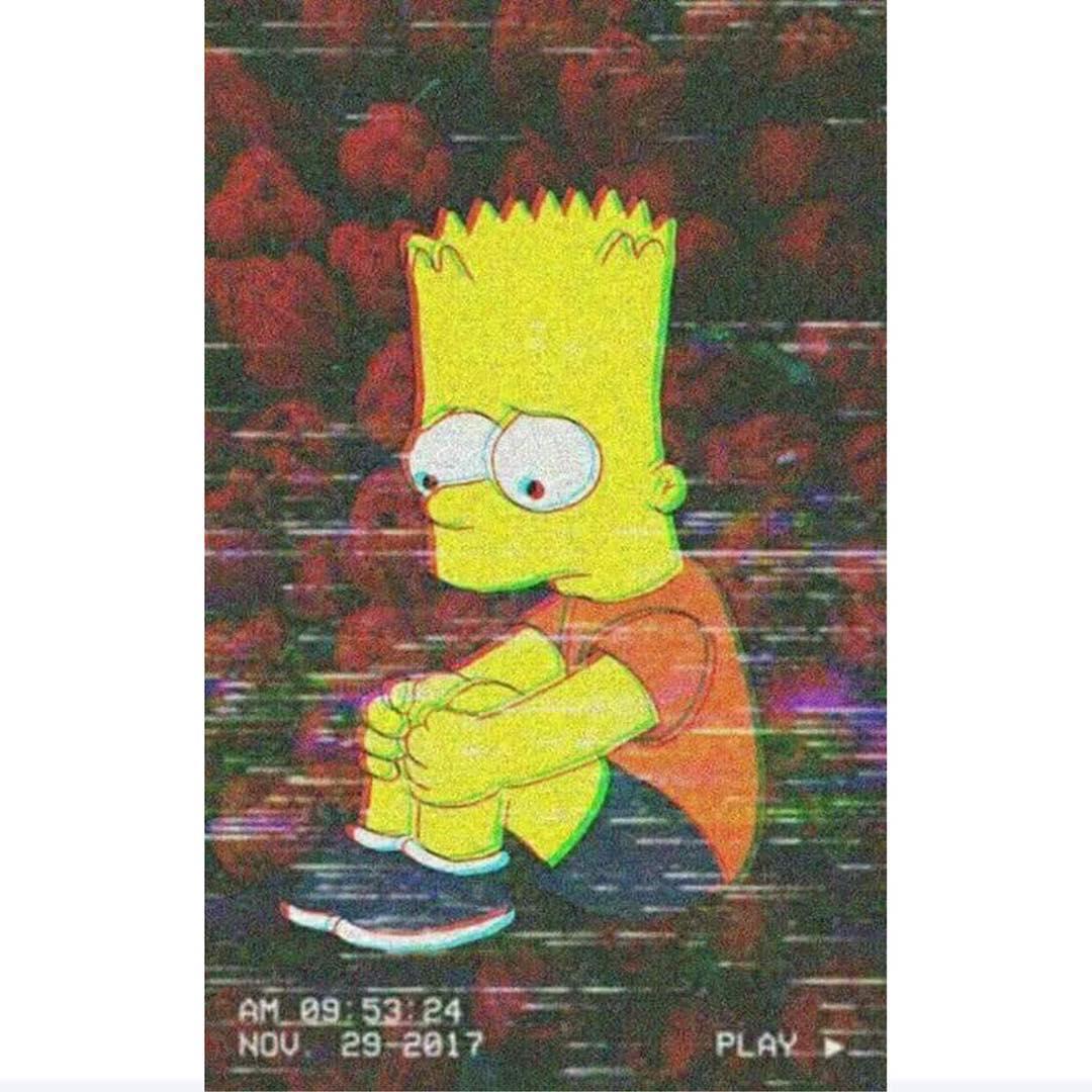 Simpsons Depressed Aesthetic Wallpapers On WallpaperDog