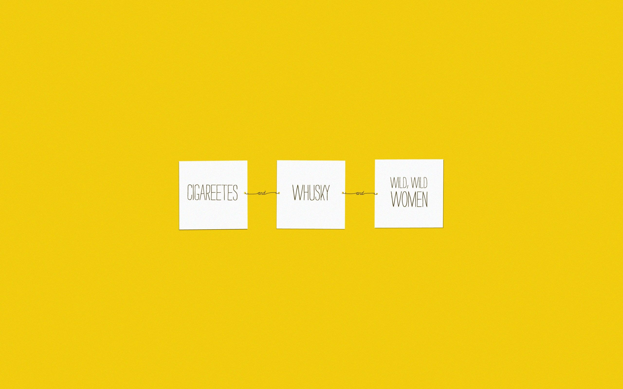 Yellow Aesthetic Quotes Desktop Wallpapers On Wallpaperdog