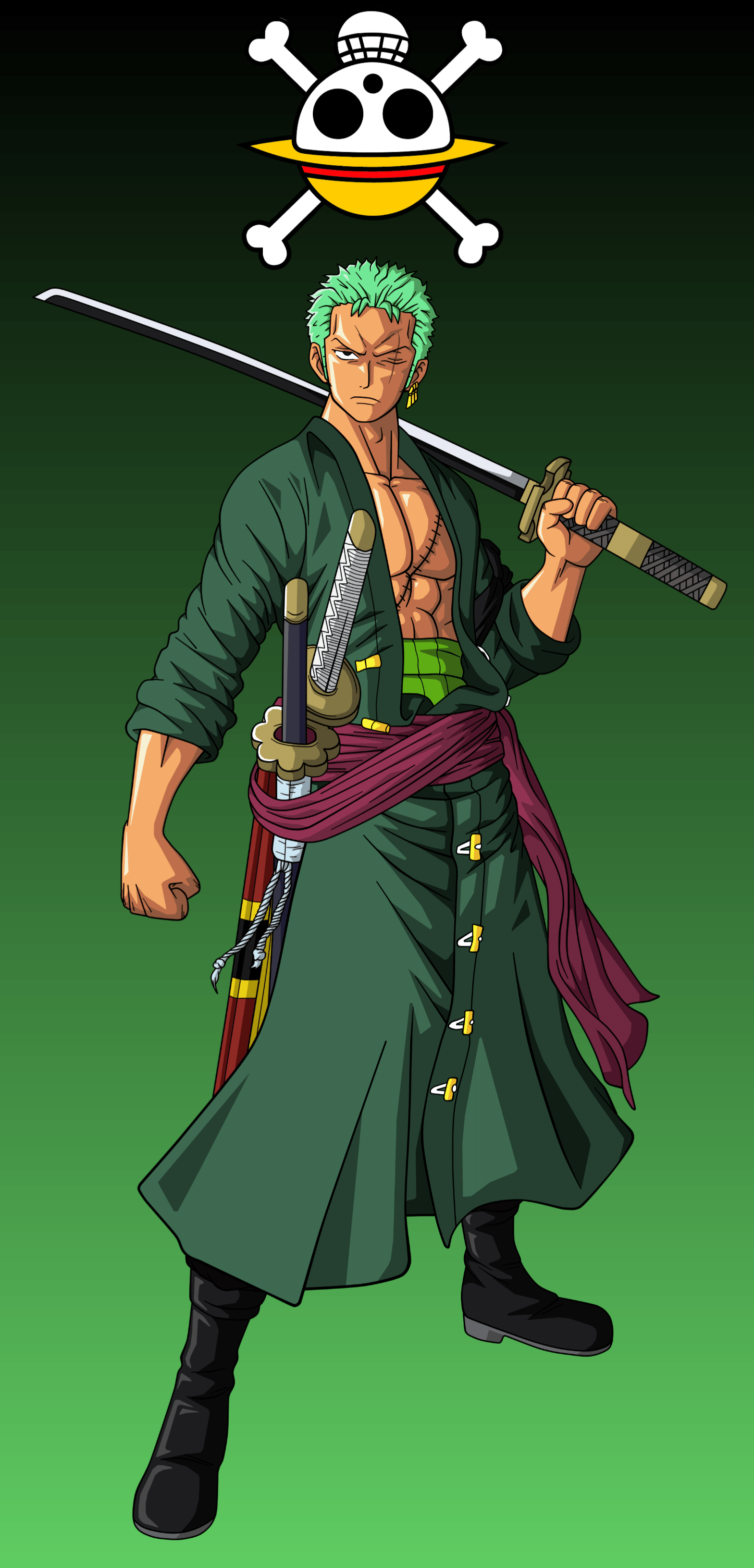 One Piece Zoro Wallpapers On Wallpaperdog