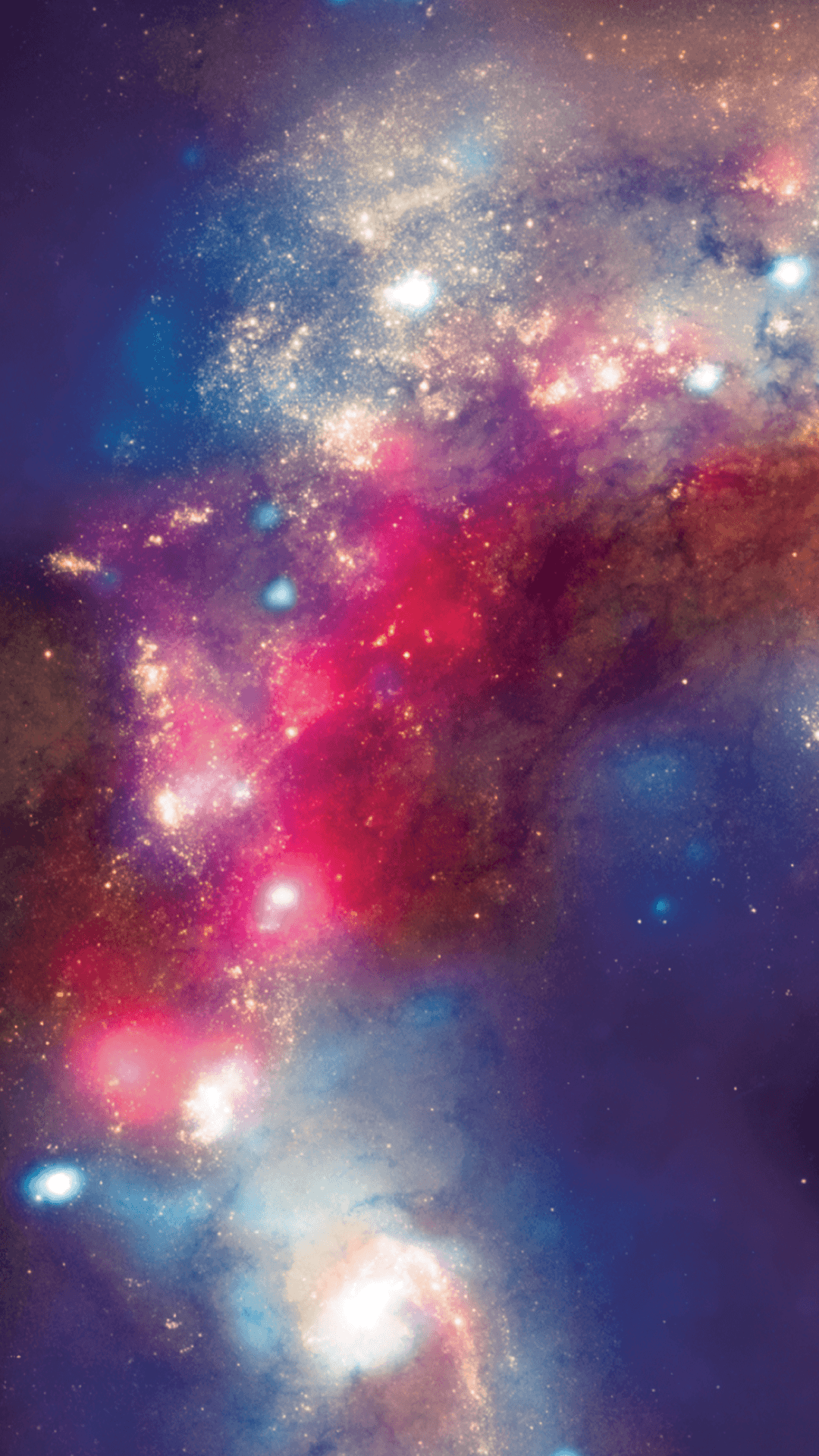 Red And Blue Galaxy Wallpapers On Wallpaperdog