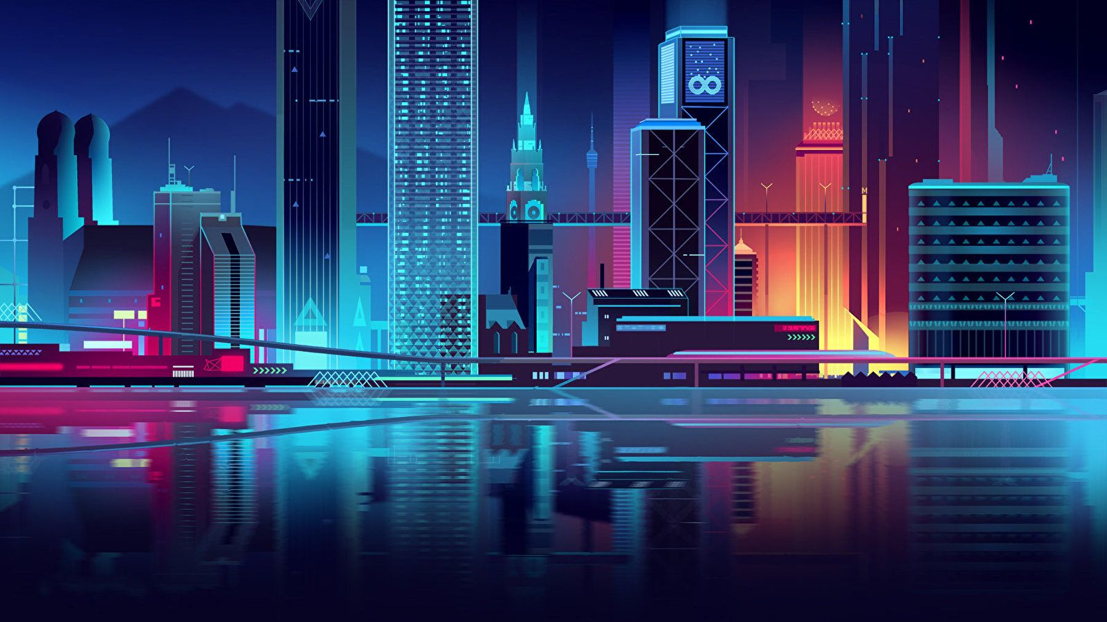 City Wallpapers On Wallpaperdog