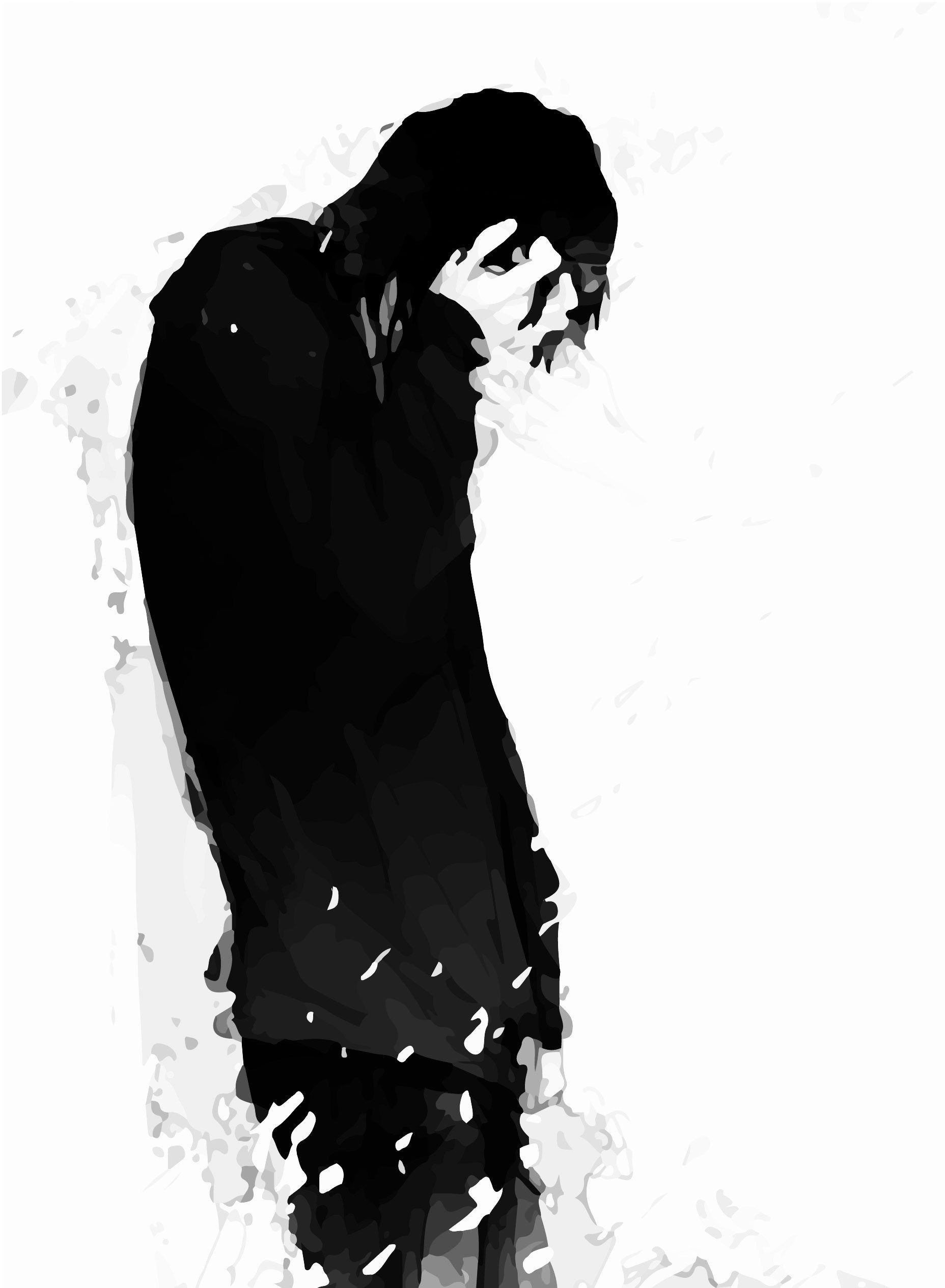Broken Hearted Sad Anime Boy Wallpaper Anime Wallpaper Hd