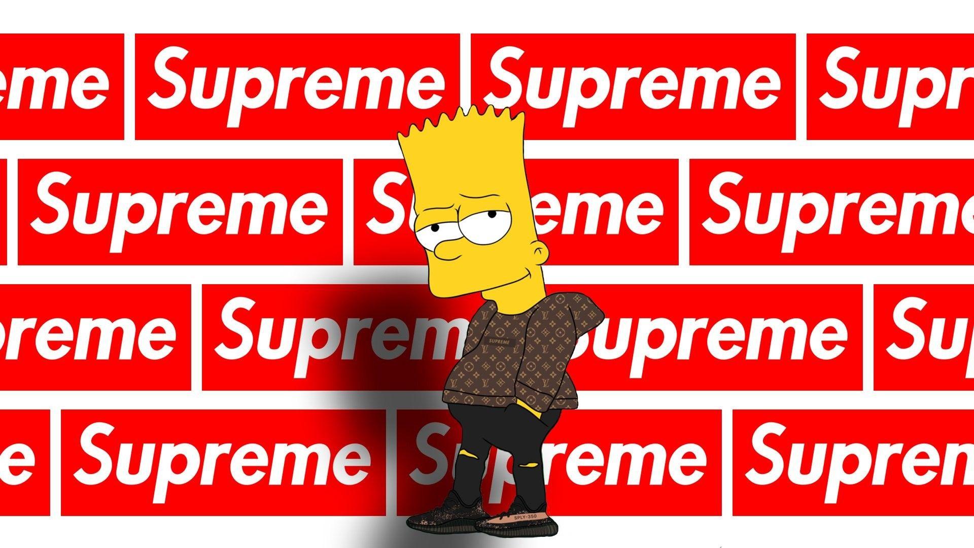 Supreme Logo Pc Wallpapers On Wallpaperdog