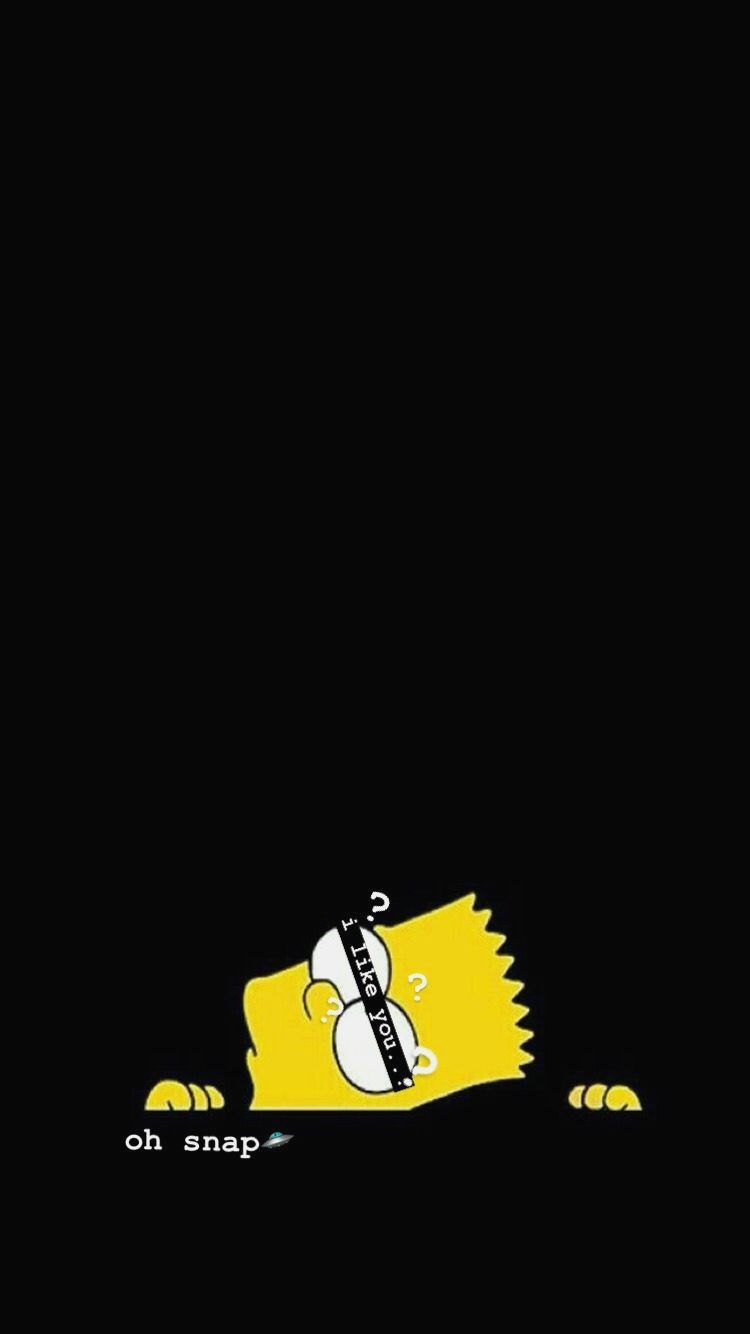 Bart Simpson Aesthetic Sad Wallpapers On Wallpaperdog
