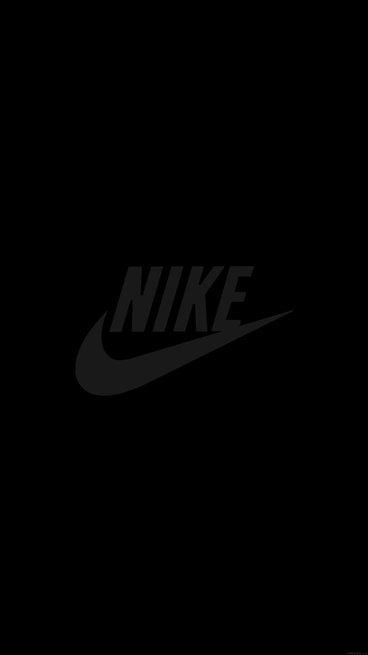 Black Nike iPhone Wallpapers on WallpaperDog