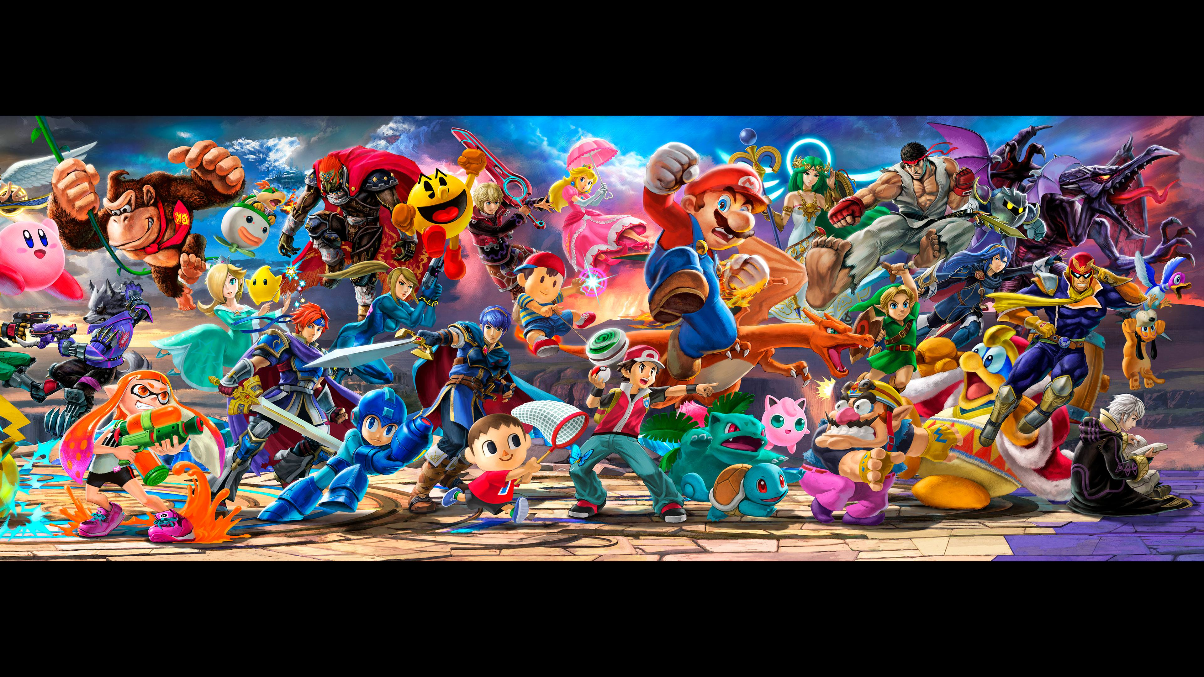 Super Smash Brothers 4 Wallpapers On Wallpaperdog