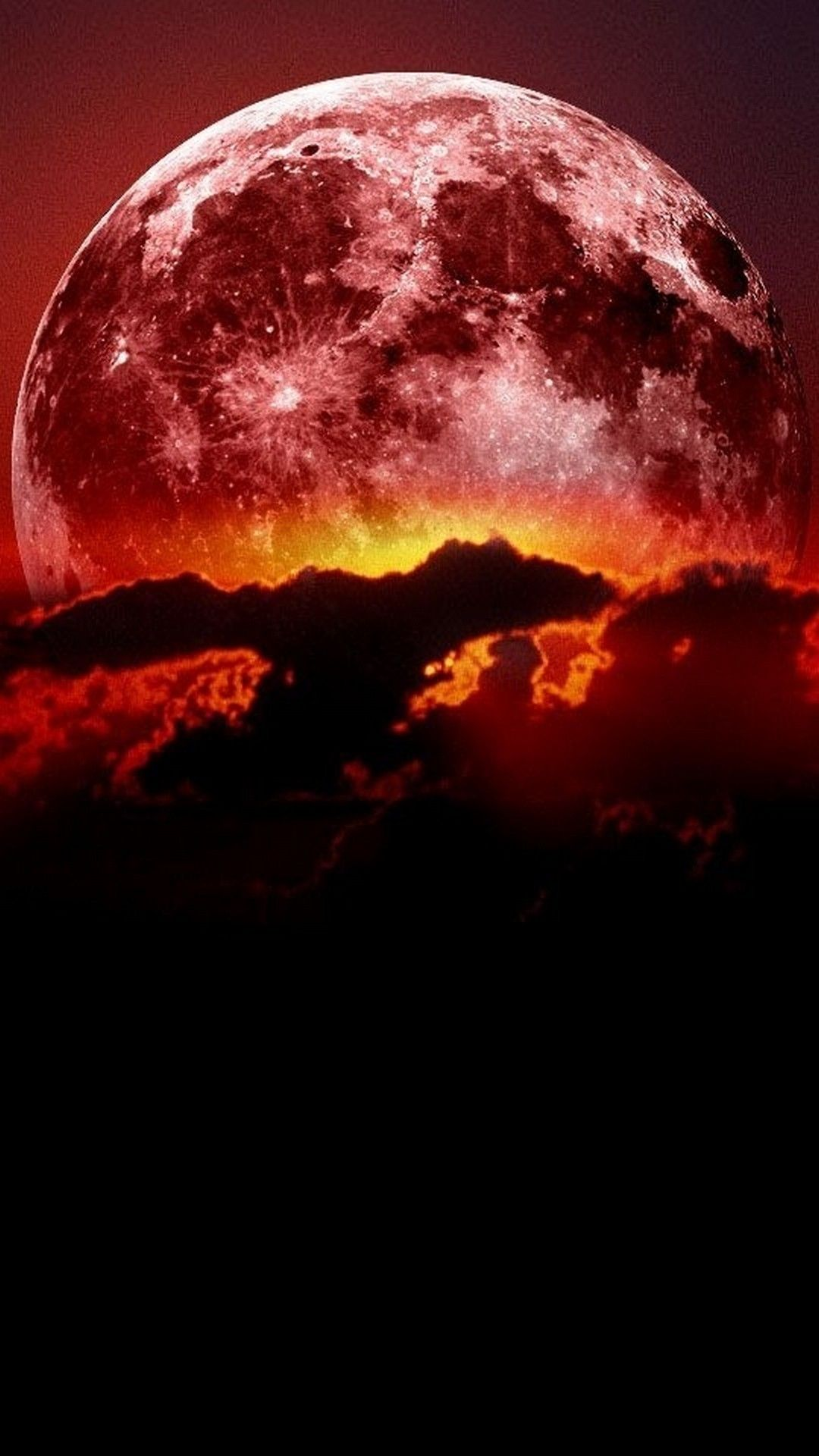 Red Moon Wallpapers On Wallpaperdog