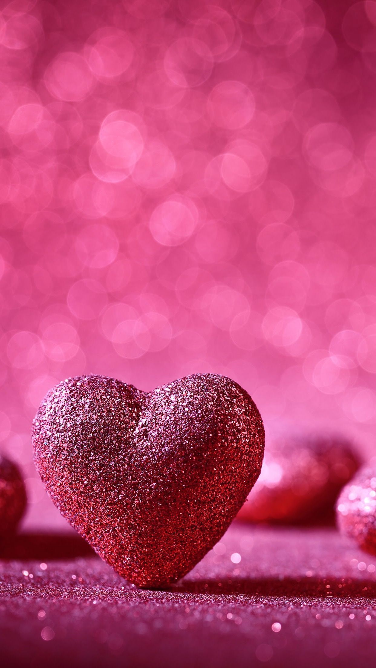 The Best Pink Heart Wallpaper Background Images