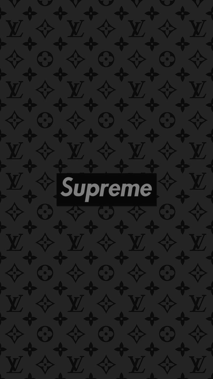 Louis Vuitton Supreme Logo Pc Wallpapers On Wallpaperdog