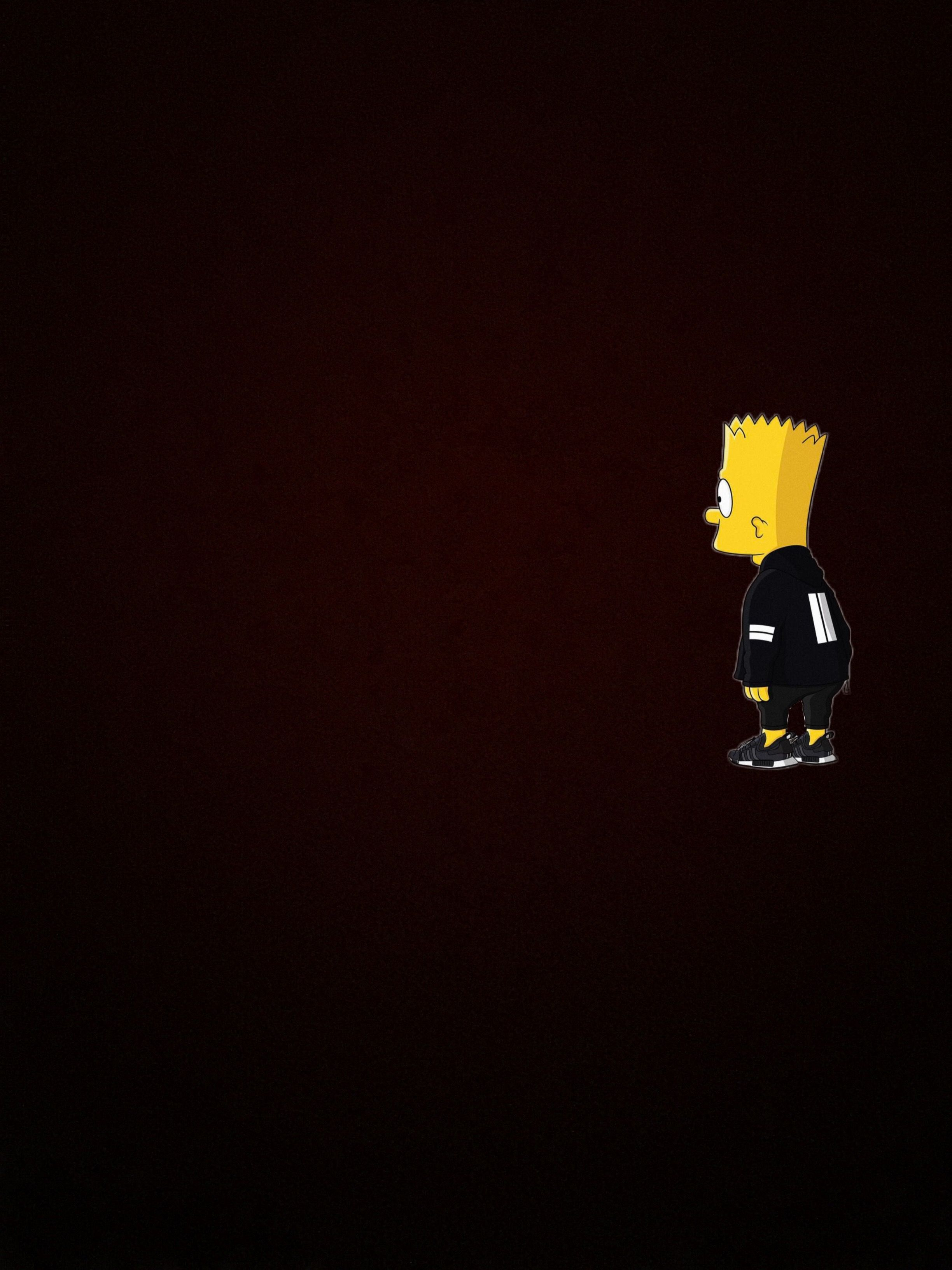 Bart Simpson Iphone Wallpapers On Wallpaperdog