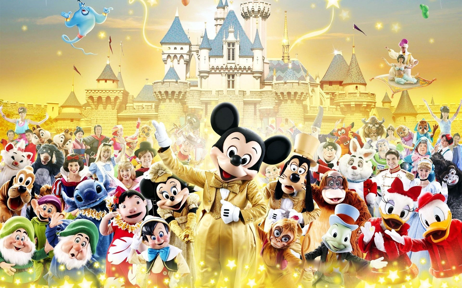 Disney Characters Wallpapers On Wallpaperdog