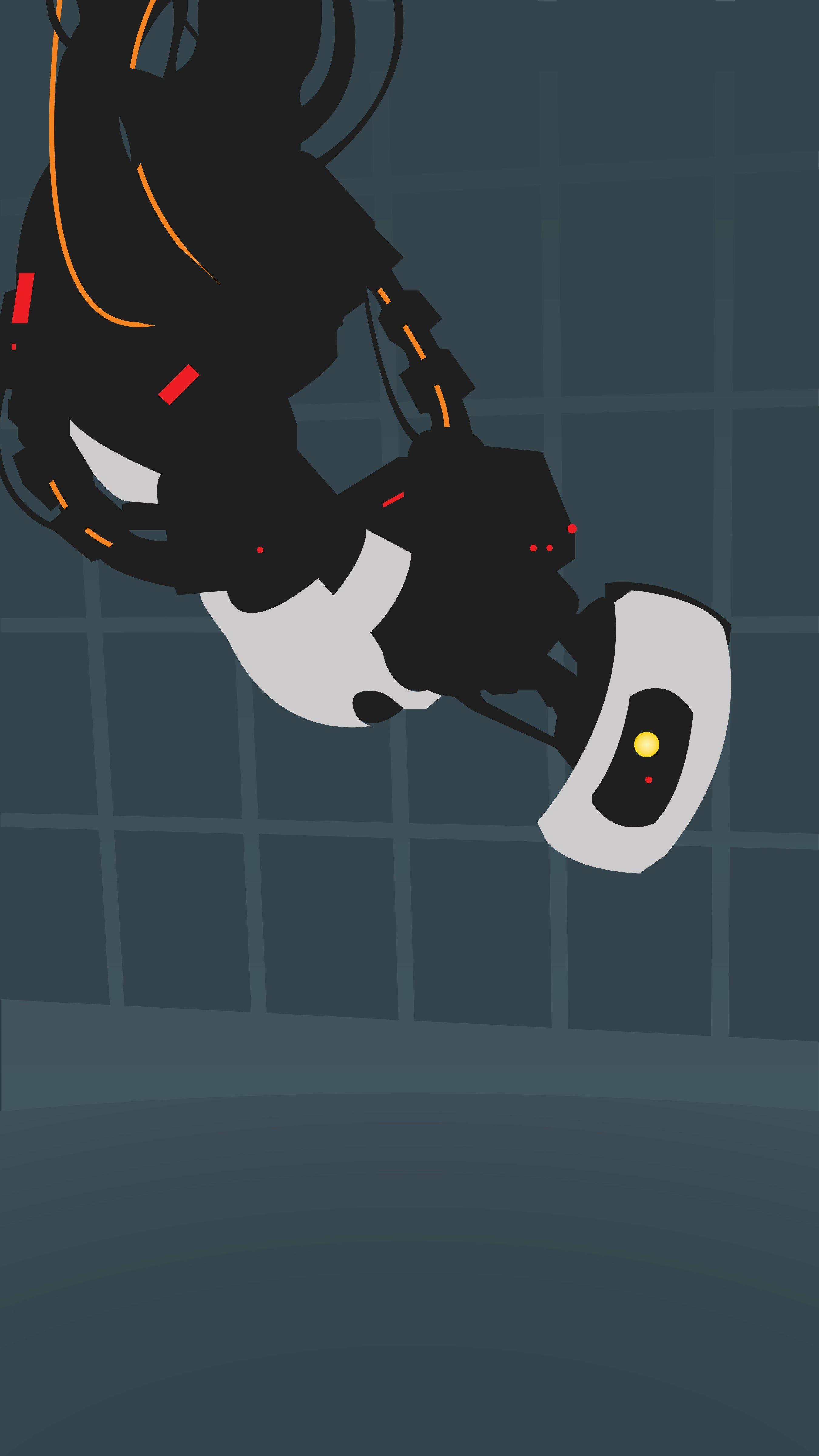 Portal 2 Phone Wallpapers On Wallpaperdog