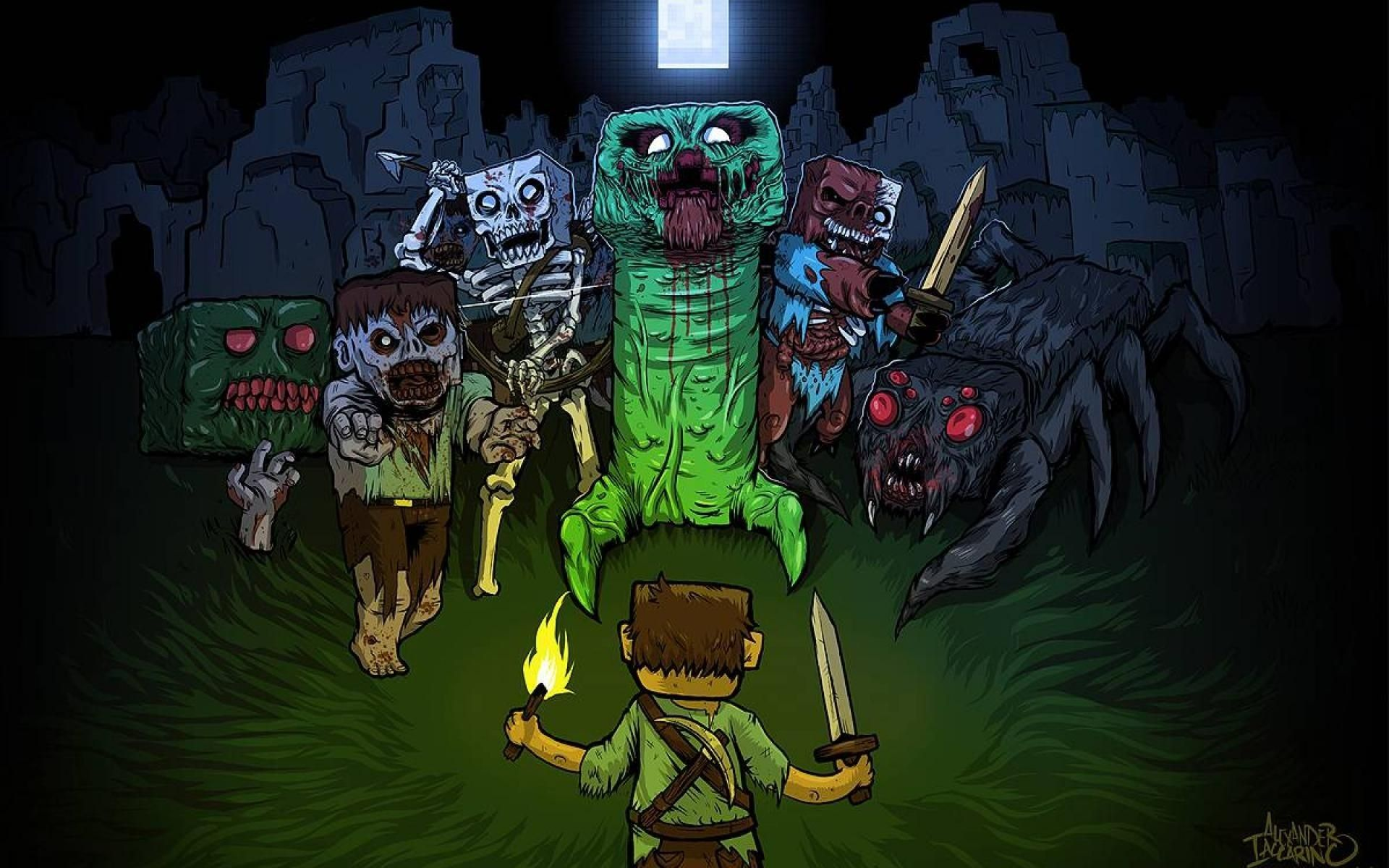 Really Cool Minecraft Wallpapers