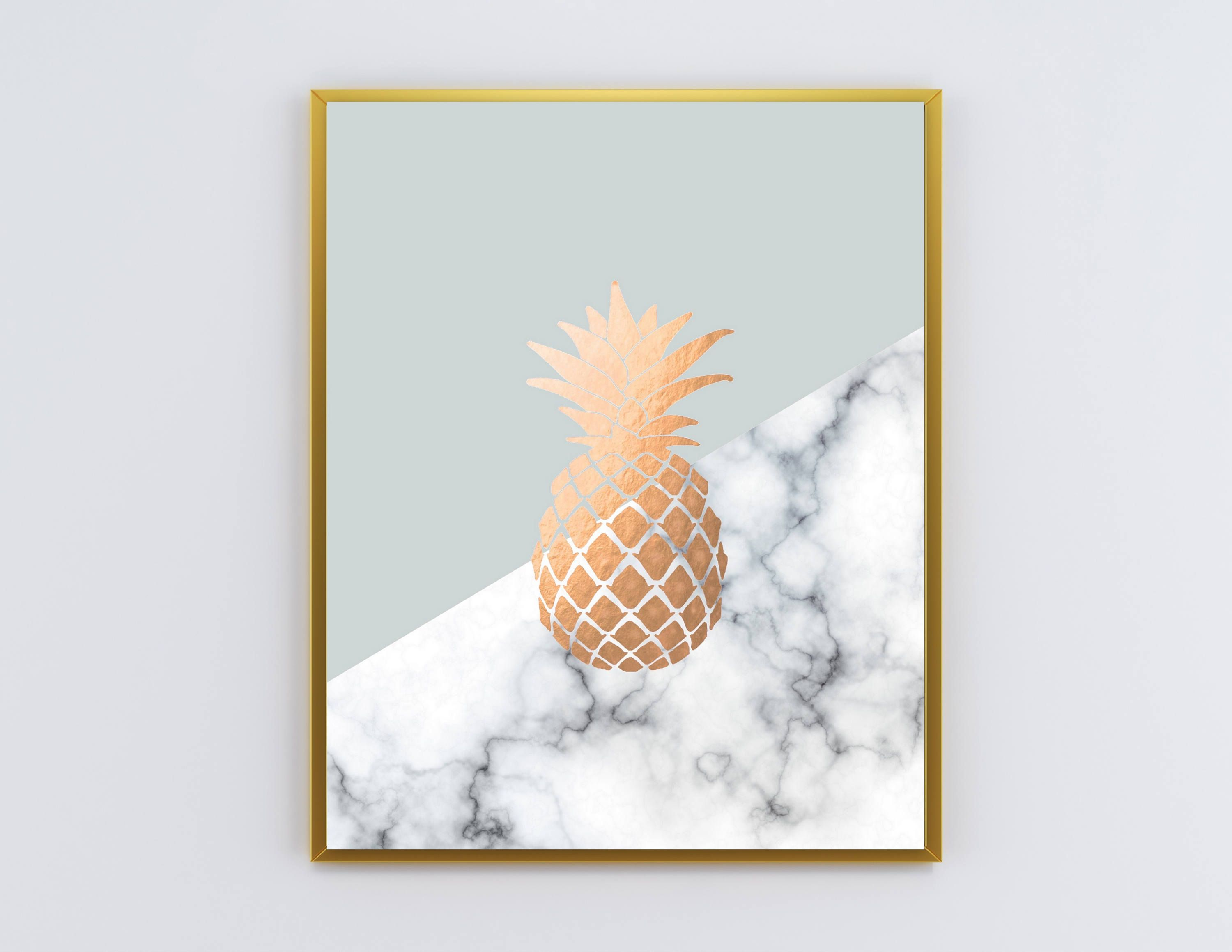 Marble Pineapple Wallpapers On Wallpaperdog