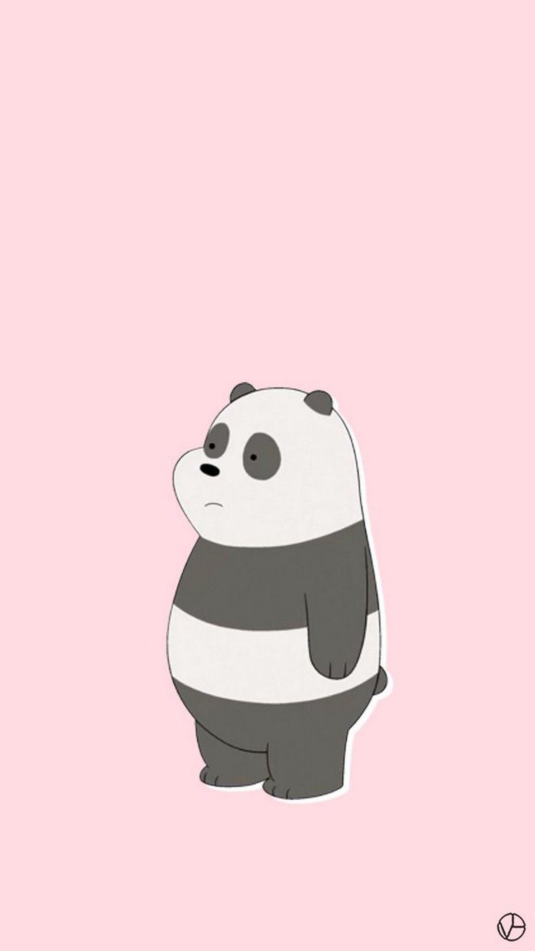 Pink Panda Wallpapers On WallpaperDog