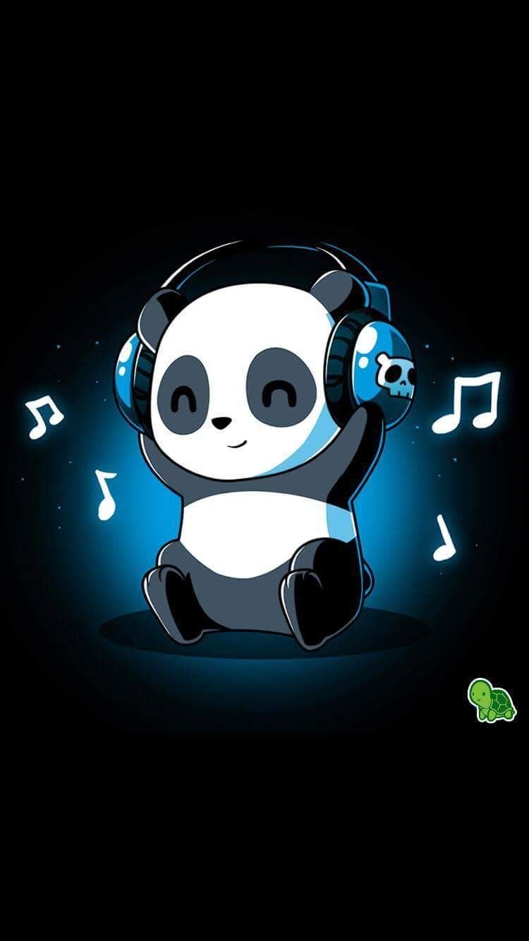 Cute Cartoon Panda Wallpapers On Wallpaperdog