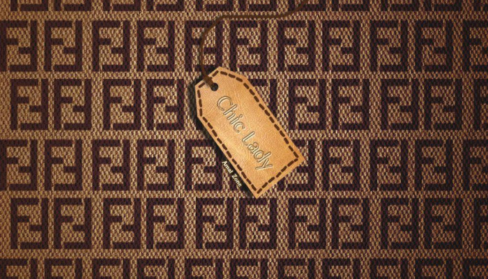 Fendi Pattern Wallpaper