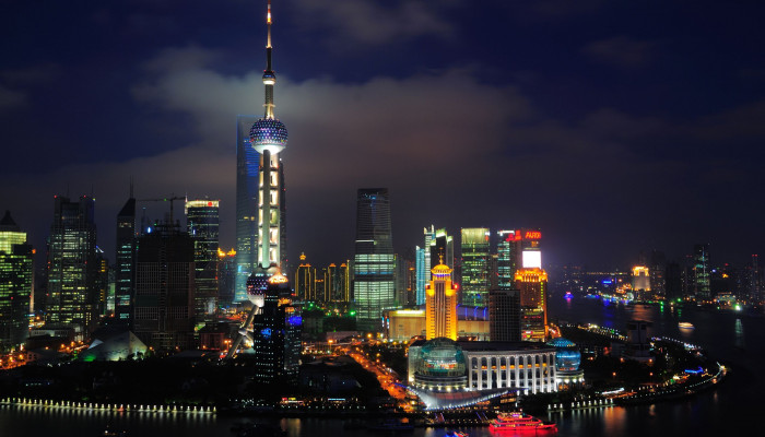 Shanghai Night Wallpaper