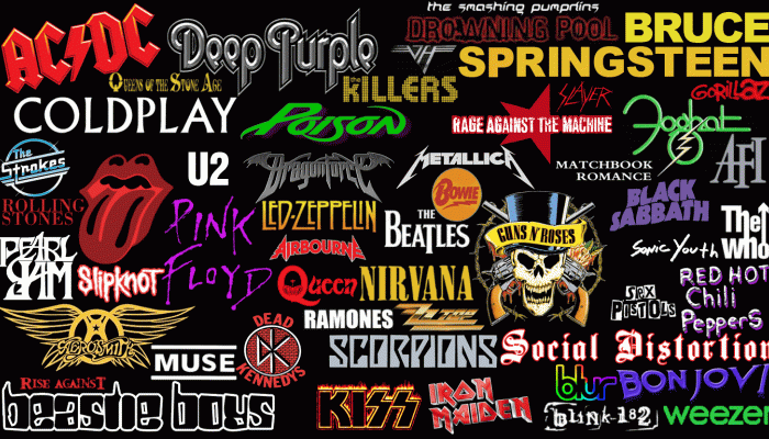 Famous Bands Wallpaper